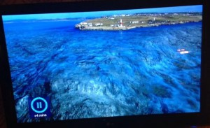 Portland Races off Dorset in the UK 3D image of seabed
