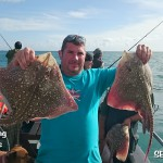 Skate fishig from the Skerry Belle Ramsgate Kent
