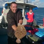 Weymouth Turbot fishing on the shambles bank