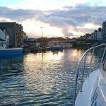 Angling charter boats at Weymouth