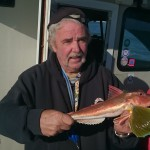 PB tub gurnard caught on the Shables bank off Weymouth
