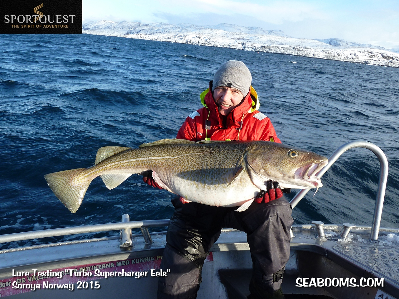 Cod Fishing In Norway Testing New Superflex Lures Sea