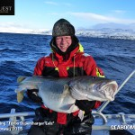 Catching large Cod in Norway