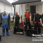Fishing for Coalfish in Norway