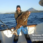Catching Halibut in Norway