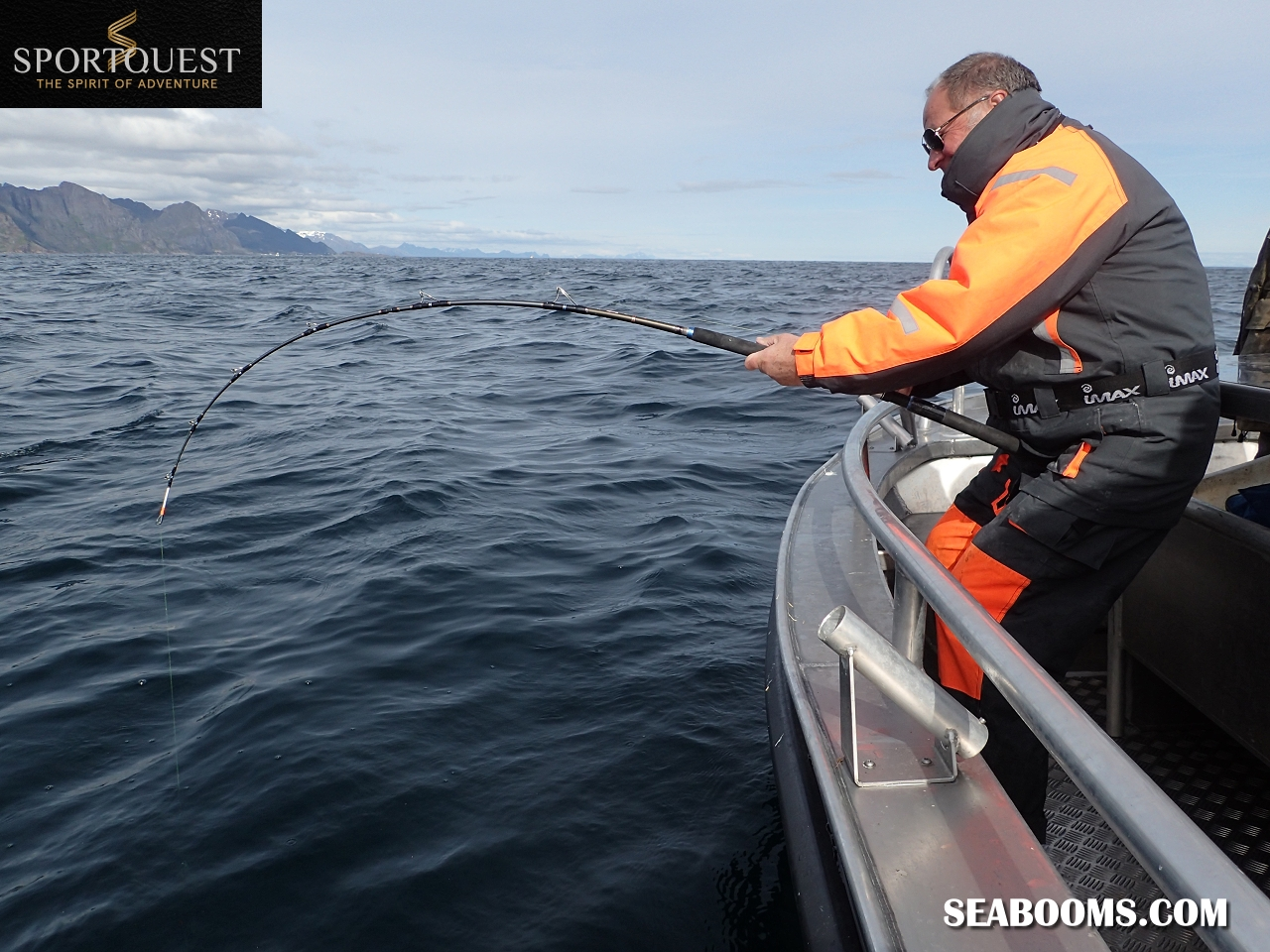 Lofoten islands norway xtreme lure testing with sportquest for Ocean fishing gear