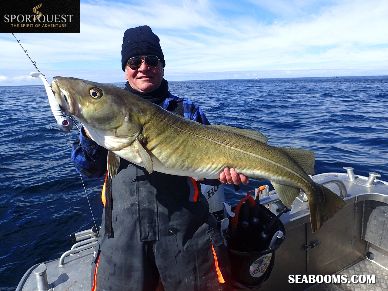 Lofoten islands norway xtreme lure testing with sportquest for Fishing tackle tester