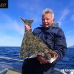 Lofoten Islands catching Halibut