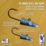 turbo jigheads plain for lure fishing