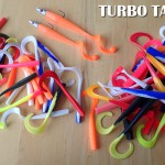 Turbo tail eels two sizes of body and variety of colours